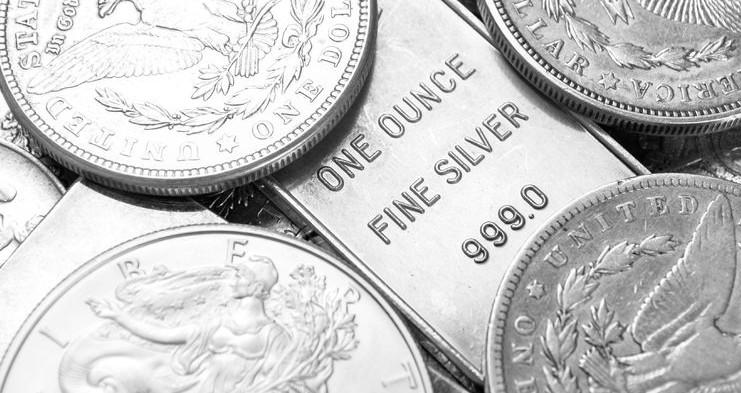 silver coins bars bullion